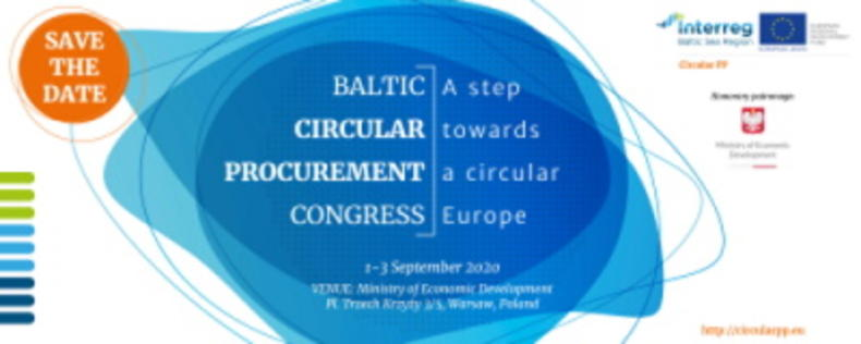 Baltic Circular Procurement Congressin logo
